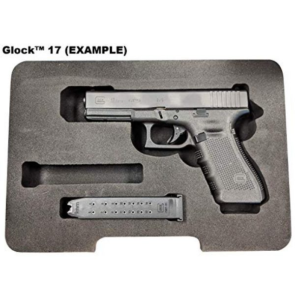 Cedar Mill Fine Firearms Pistol Case 2 Cedar Mill Fine Firearms Replacement Foam for The Pistol Case