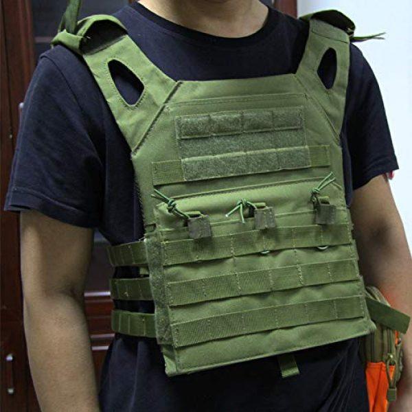 No! Airsoft Tactical Vest 5 No! JPC Vest Lightweight Tactical Vest Vest Multifunctional Outdoor Field CS Army Fan Vest