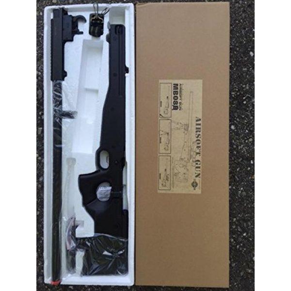 Well Airsoft Rifle 3 spring Well mb08a l96 bolt action sniper rifle black fps-550 airsoft gun(Airsoft Gun)
