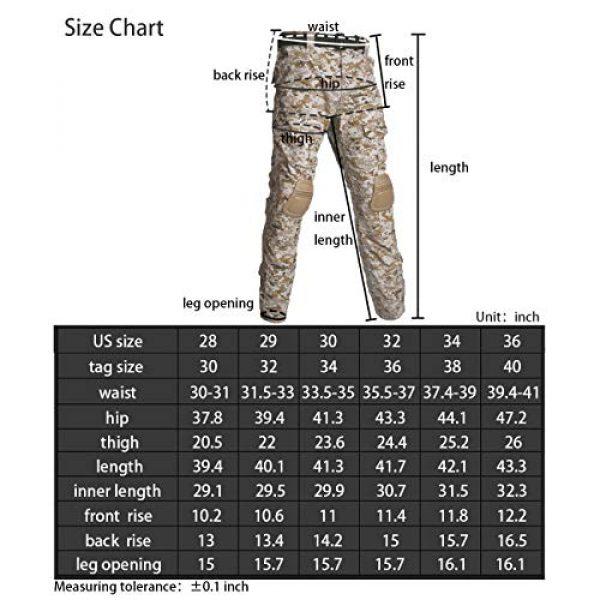 Military Ba Tactical Shirt 7 Men's Tactical Combat Shirt and Pants Set Long Sleeve Multicam Woodland BDU Hunting Military Uniform 1/4 Zip