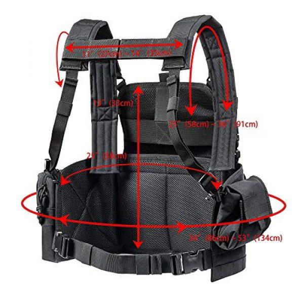 GXYWAN Airsoft Tactical Vest 7 GXYWAN Tactical CS Field Vest Paintball Training Air Gun Super Light Breathable Combat Adjustable Vest
