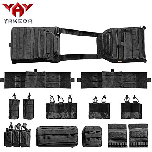 vAv YAKEDA Airsoft Tactical Vest 5 vAv YAKEDA Outdoor Tactical Military Vest Airsoft Vest for Men