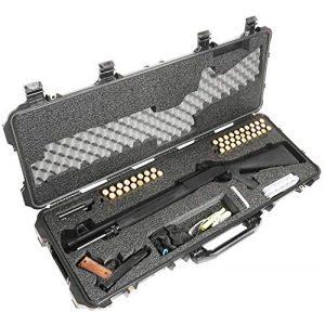 Case Club Rifle Case 1 Case Club Tactical Shotgun Pre-Cut Waterproof Case with Accessory Box and Silica Gel to Help Prevent Gun Rust (Gen 2)