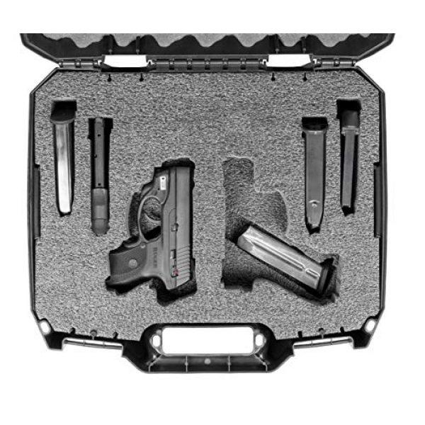 Case Club Pistol Case 2 Case Club Pre-Cut Pistol Carrying Cases