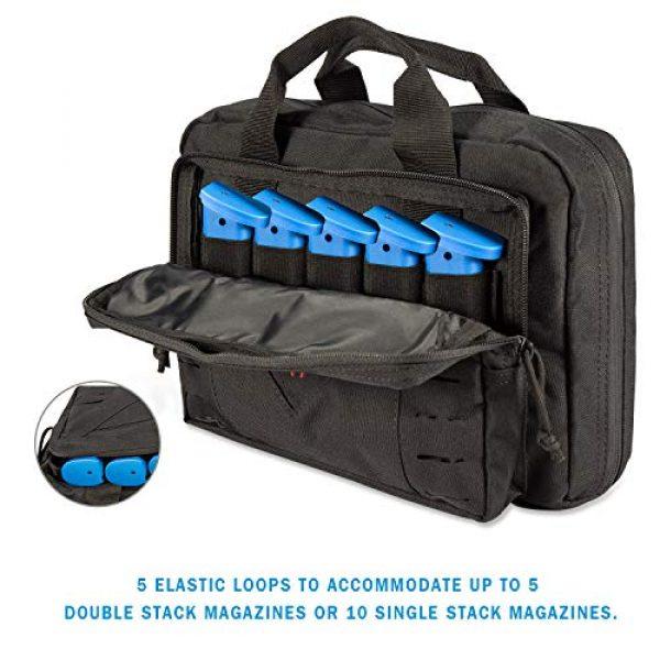 CAMO Pistol Case 4 CAMO Tactical Double Pistol Case Soft Gun Bags for Handguns 10L