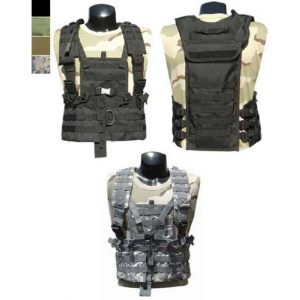 enmu pancho Airsoft Tactical Vest 1 Limited Edition Condor Modular Chest Platform Vest for Airsoft Gaming - (ACU)
