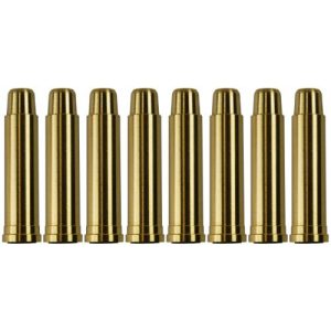 UHC Airsoft Gun Magazine 1 UHC MUG131BRASS Metal Airsoft Shells Magazines for Gas Revolvers 8 Pieces