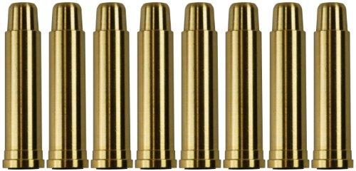 UHC  1 UHC MUG131BRASS Metal Airsoft Shells Magazines for Gas Revolvers 8 Pieces