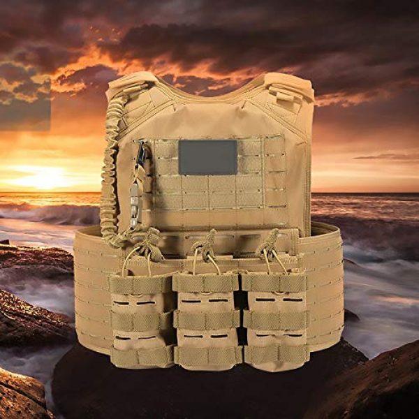 WEQ Airsoft Tactical Vest 5 WEQ CS Tactical Vest Modular Vest Outdoor Sports Camouflage Vest Combat Training Vest