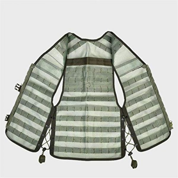 Armiya Airsoft Tactical Vest 3 Armiya Versatile Tactical Vest Removable Mesh Breathable Adjustable for Adult Outdoor