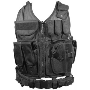 Fire Power Airsoft Tactical Vest 1 Firepower Deluxe Tactical Vest Black