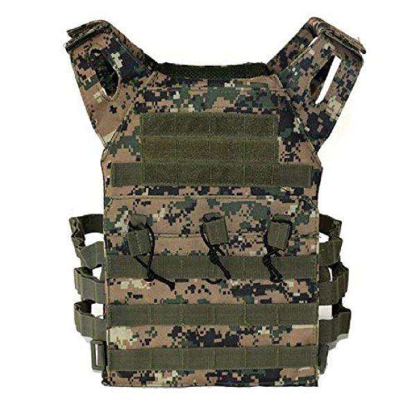 BGJ Airsoft Tactical Vest 1 2 pcs Foam Training Hunting Body Armor Plates Dummy Tactical Vest Bulletproof Panel for JPC Military Airsoft Vest Equipment