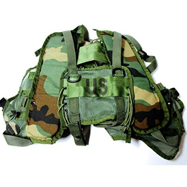 Reyes Industries, inc. Airsoft Tactical Vest 2 Reyes Industries, inc. US Military Enhanced Tactical Load Bearing Vest