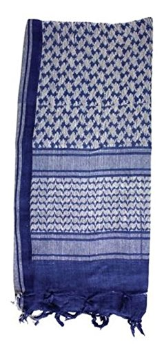 Red Rock Outdoor Gear Shemagh Headwrap 1 Red Rock Outdoor Gear Shemagh Head Wrap Royal Blue/White