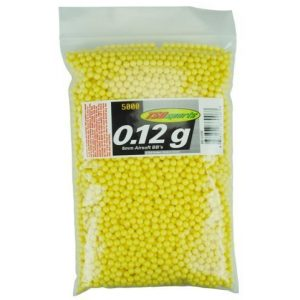 TSD Airsoft BB 1 TSD Sports 6mm Plastic Airsoft BBs, 0.12g, 5,000 Rds, Yellow