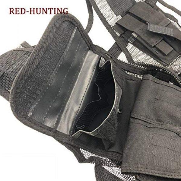 Shefure Airsoft Tactical Vest 7 Shefure New Adjustable Tactical Combat Training Vest Lightweight Mesh Tactical Breathable Vest Black