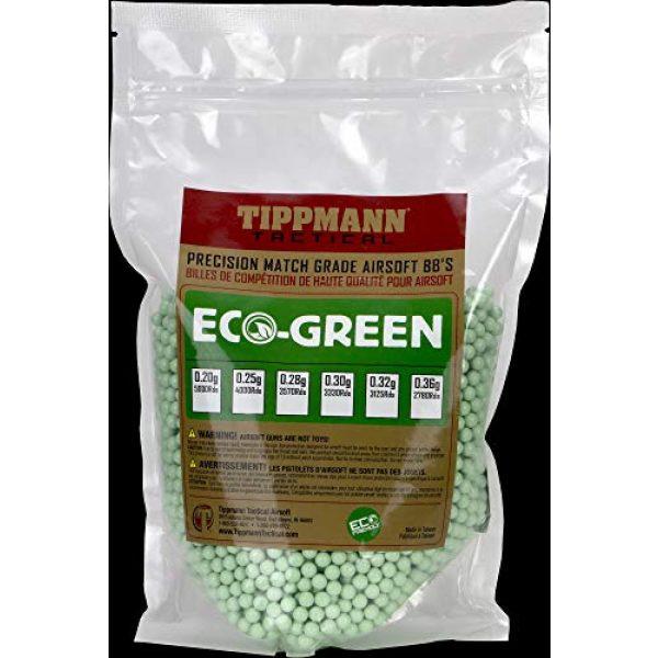 Tippmann Airsoft Airsoft BB 1 Tippmann 6mm ECO-Green BIO BB - 0.30g - 1kg Bag - Light Green