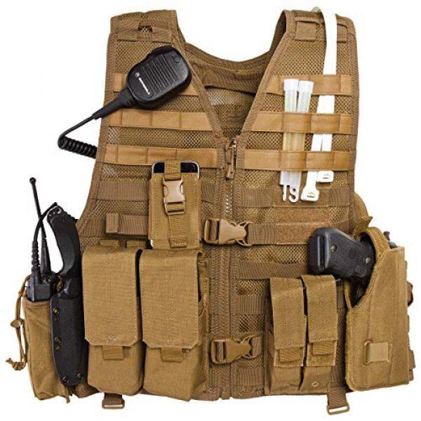 5.11 Airsoft Tactical Vest 5 5.11 LBE Vest Black, Regular