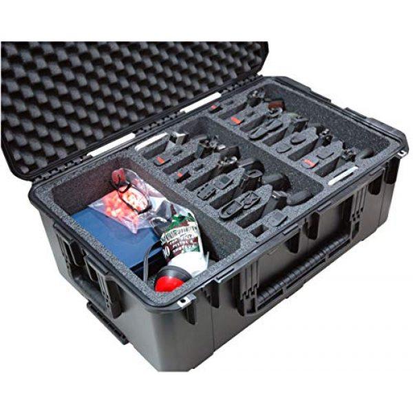 Case Club Pistol Case 1 Case Club 10 Pistol & Accessory Pre-Cut Waterproof Case with Silica Gel to Help Prevent Gun Rust