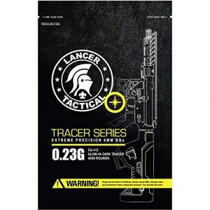 Lancer Tactical Airsoft BB 1 Lancer Tactical Pro Series 4000 Round Airsoft Tracer BBS 0.23g
