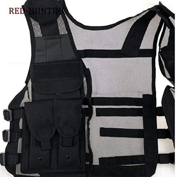 Shefure Airsoft Tactical Vest 4 Shefure New Adjustable Tactical Combat Training Vest Lightweight Mesh Tactical Breathable Vest Black