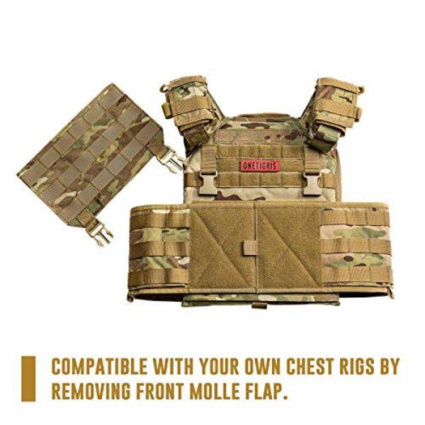 OneTigris Airsoft Tactical Vest 3 OneTigris Multicam Airsoft Vest & Low Profile Tactical Vest