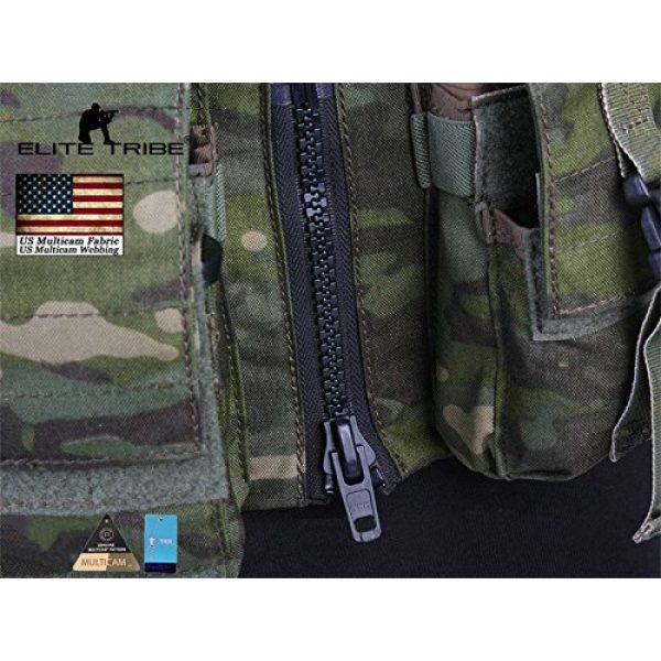 Elite Tribe Airsoft Tactical Vest 6 Elite Tribe Airsoft Military Molle Vest Combat Tactical LBT 1961A R Style Load Bearing Chest Rig