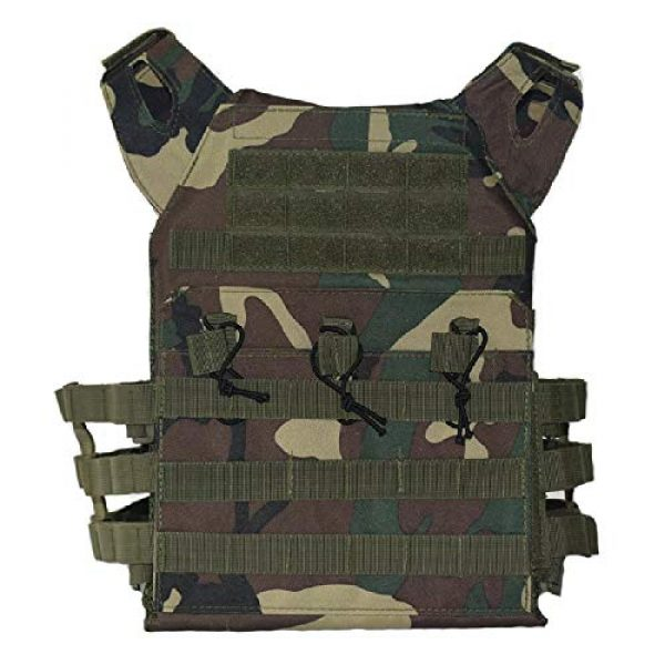 BGJ Airsoft Tactical Vest 6 BGJ Men Hunting Airsoft Paintball Sport Protective Vest Tactical Plate Carry JPC Vest Camoufalge Military Army Molle Carrier Vest