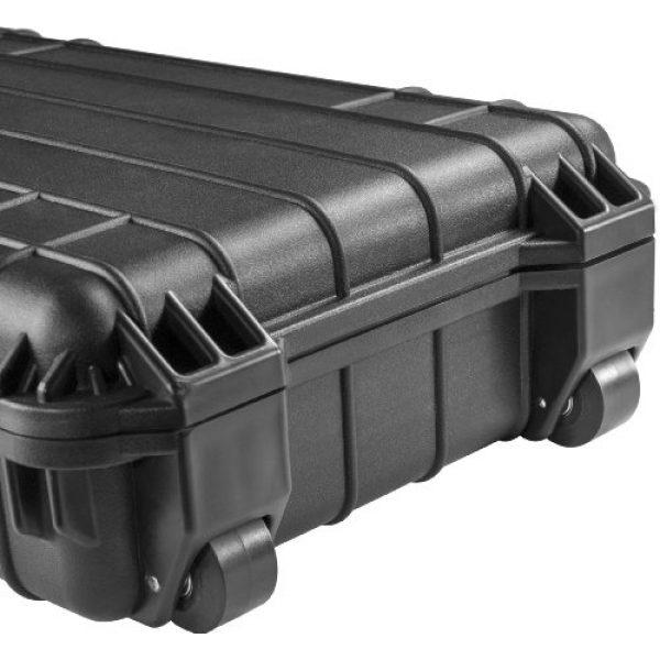 BARSKA Rifle Case 6 BARSKA Loaded Gear Watertight Hard Rifle Case, 44-Inch