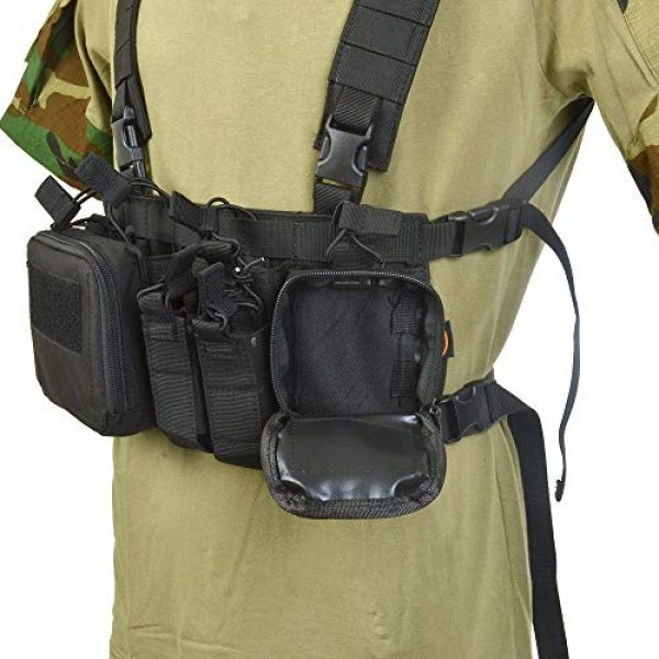 BGJ Airsoft Tactical Vest 4 BGJ CS Match Wargame TCM Chest Rig Airsoft Tactical Vest Military Pack Magazine Pouch Holster Molle System Waist Men Nylon