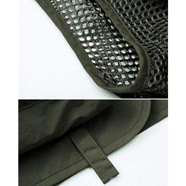 DAFREW Airsoft Tactical Vest 7 DAFREW Men's Vest Fashion Casual Vest Outdoor Photography Fishing Vest Quick Dry Vest (Color : Black, Size : M)