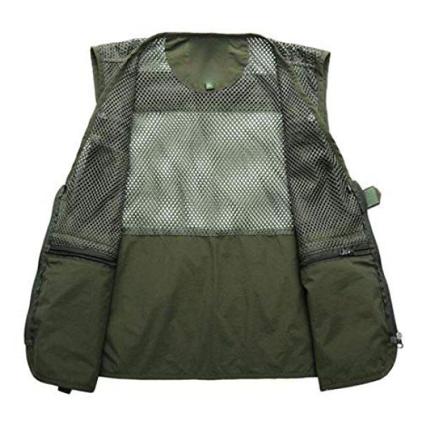 DAFREW Airsoft Tactical Vest 3 DAFREW Men's Vest Fashion Casual Vest Outdoor Photography Fishing Vest Quick Dry Vest (Color : Black, Size : M)