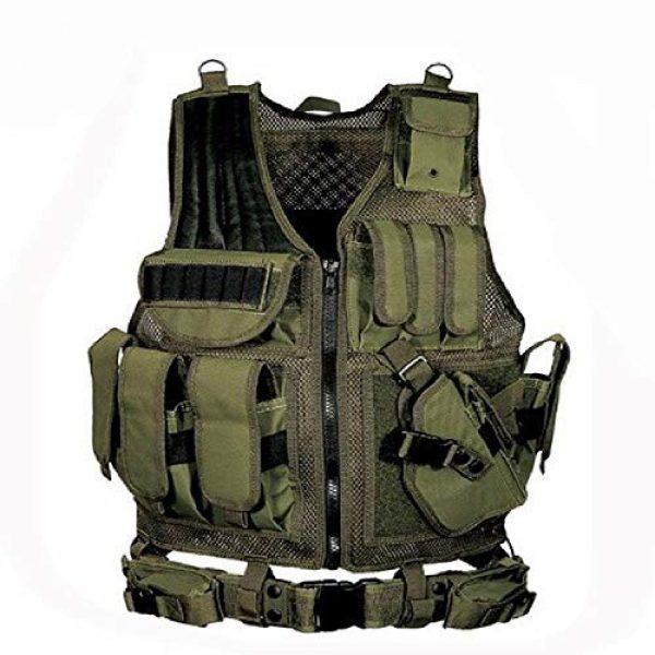 BGJ Airsoft Tactical Vest 1 BGJ Military Equipment Tactical Vest Police Training Combat Armor Gear Army Paintball Hunting Airsoft Vest Molle Protective Vests