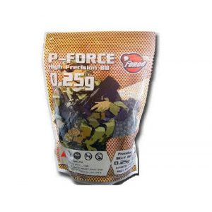 P-Force Airsoft BB 1 P-Force Super Premium 4,000 .25g Airsoft BB's (Black)