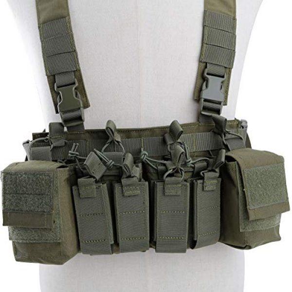 Tactical Area Airsoft Tactical Vest 3 CS Vest Multi-Functional Tactical Vest Breathable and Quick Release Lightweight Vest