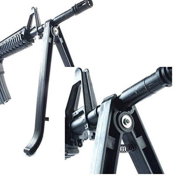 Gazelle Trading Airsoft Gun Barrel Bipod 6 Gazelle Trading Tactical ABS BIPOD BI POD Gun Sniper Rest Stand BB Airsoft Soft Air Rifle