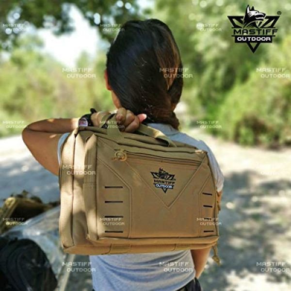 Mastiff Outdoor Pistol Case 3 Mastiff Outdoor Tactical Pistol Case Handgun Bag Hunting Shooting Range Magazine Pouch