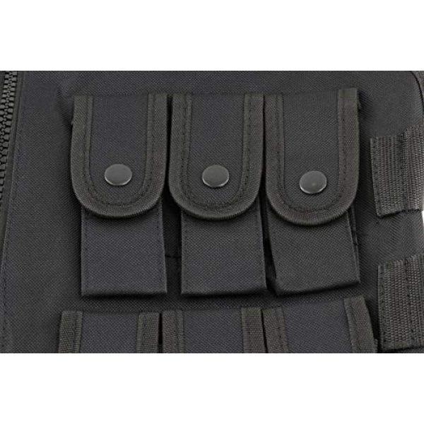 Sutekus Airsoft Tactical Vest 6 Sutekus Tactical Vest for Outdoor Paintball Airsoft Game Combat Training & Costume