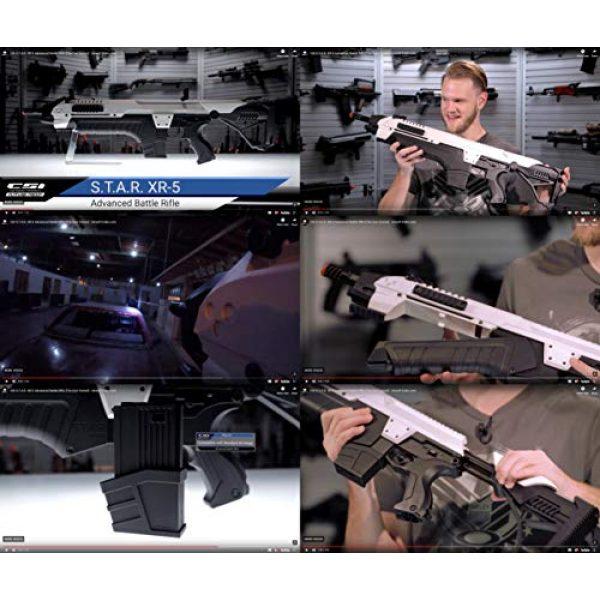 Evike Airsoft Rifle 4 Evike CSI S.T.A.R. XR-5 FG-1508 Advanced Airsoft Battle Rifle (Color: Grey)