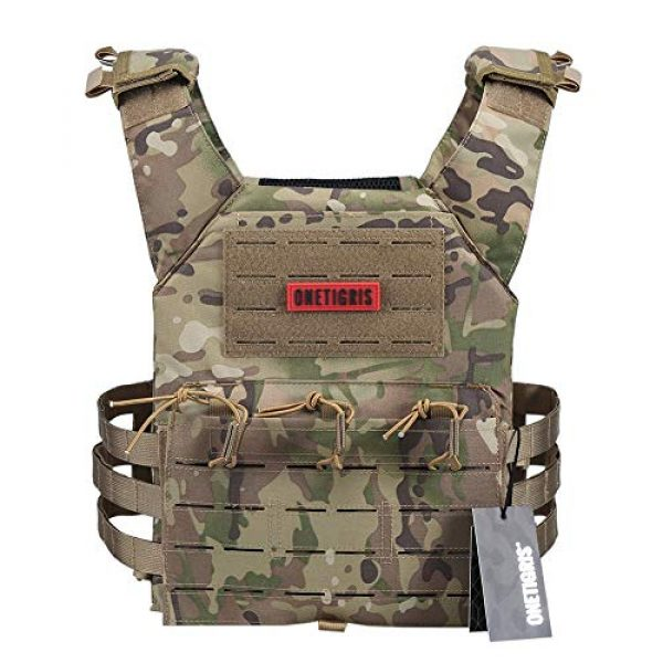 OneTigris Airsoft Tactical Vest 2 OneTigris Tactical Larser-Cut Vest