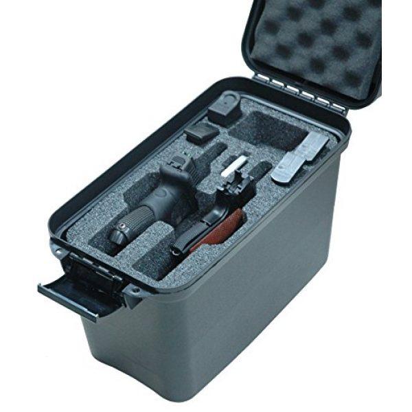 Case Club Pistol Case 2 Case Club 2 Revolver/Pistol Pre-Cut Top Loader Case with Silica Gel to Help Prevent Gun Rust