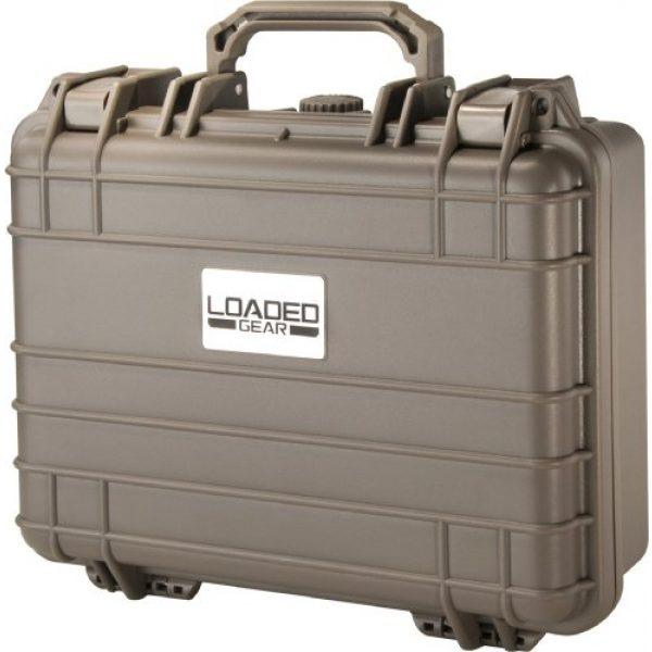 BARSKA Pistol Case 2 Barska Loaded Gear HD-200 Dark Earth Hard Case