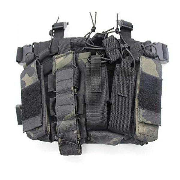 BGJ Airsoft Tactical Vest 2 BGJ Military Equipment Tactical Vest Airsoft Paintball Carrier Strike Chaleco Chest rig Pack Pouch Light Weight Heavy Duty Vest