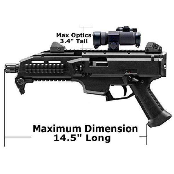 Case Club Pistol Case 4 Case Club CZ Scorpion EVO 3 S1 Pistol & S2 Pre-Cut Waterproof Pistol Case with Silica Gel to Help Prevent Gun Rust (Gen 2)