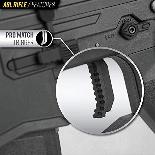 Valken Airsoft Rifle 2 Valken ASL Hi-Velocity M4 Airsoft Rifle AEG 6mm Rifle (Tango)