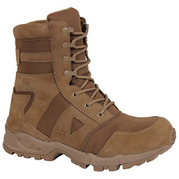 Rothco Combat Boot 2 AR 670-1 Coyote Forced Entry Tactical Boot