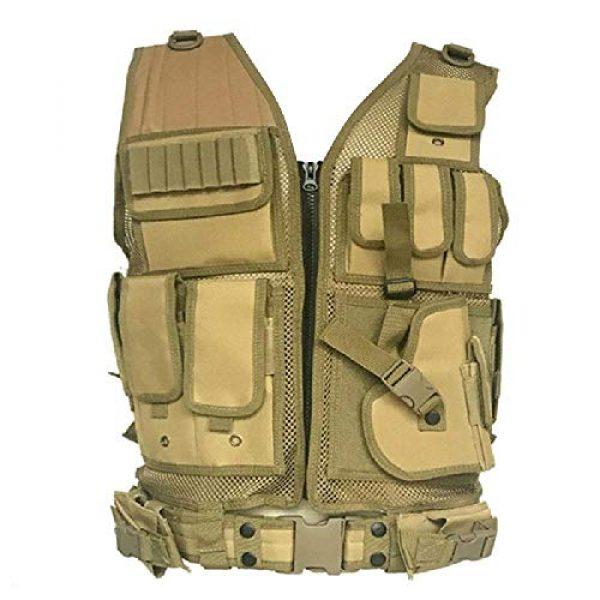 BGJ Airsoft Tactical Vest 4 BGJ Tactical Vest Airsoft Paintball Vests Molle Combat Assault Men Army CS Hunting Vest Camping Hiking Accessories