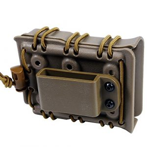 Hunting Explorer  1 Tactical MOLLE Fast Mag Pouch 7.62 Open-Top Magazine Holder for Airsoft Hunting Shooting CS Game Paintball