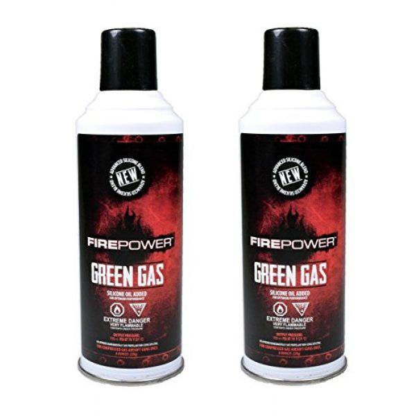 Fire Power Airsoft Gun Green Gas 1 Green Gas x2 DUAL PACK by Fire Power