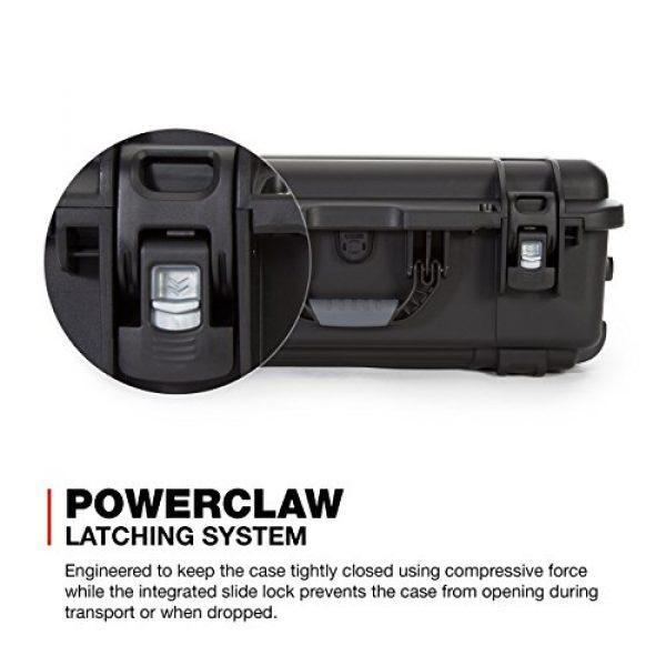 Nanuk Pistol Case 5 Nanuk 935 Waterproof Professional Gun Case with Foam Insert for 6UP w/Wheels